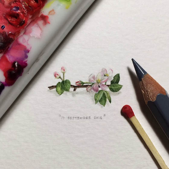 Superbly Detailed Miniature Paintings by Lorraine Loots
