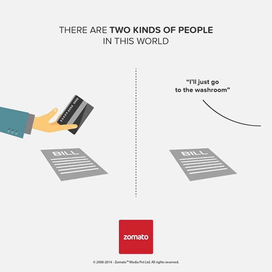 Two Kind of People Project by Zomato