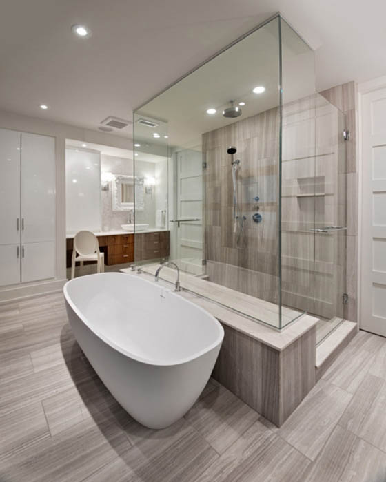 Unique 60 cool ensuite bathrooms design ideas of small for Master bathroom suite designs