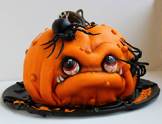 30 creative and inspirational halloween cake ideas - Halloween Bakery Ideas