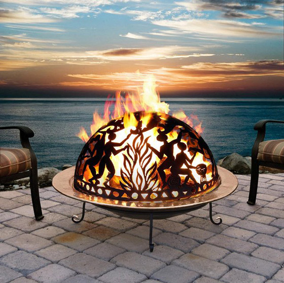 11 Cool and Beautiful Outdoor Fire Pit Designs ? Design Swan