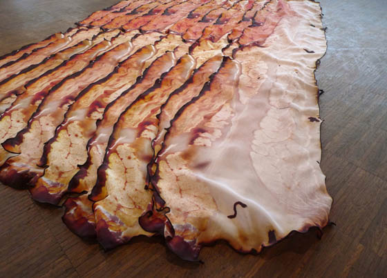Fou Lard: Unusual Bacon Inspired Skill Scarf