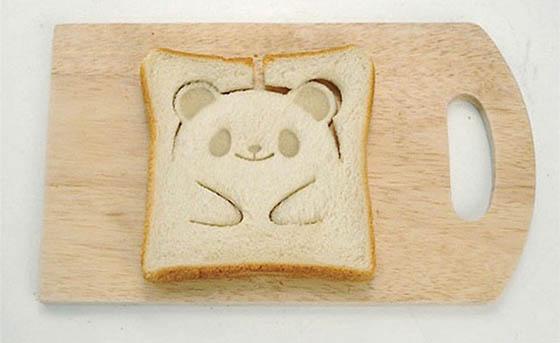 Adorable Teddy-Bear Toast Stamp