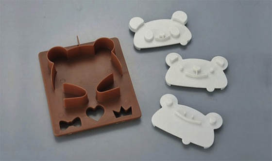 Adorable Teddy-Bear Toast Stamp