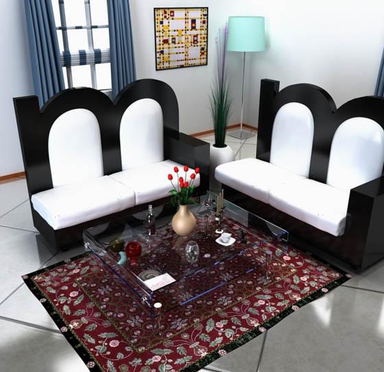 Alphabet Inspired Furniture Design by Claudio Scotto