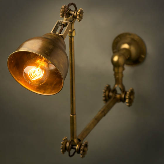 Beautiful Steampunk Style Lamp Fixtures