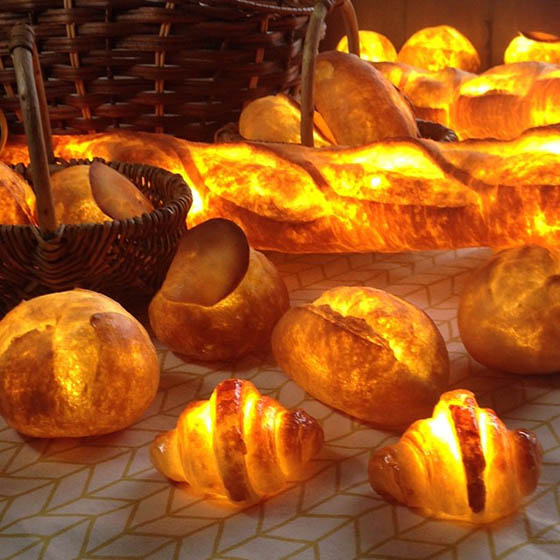 Pampshades: Your Freshly Baked Bread Lamp