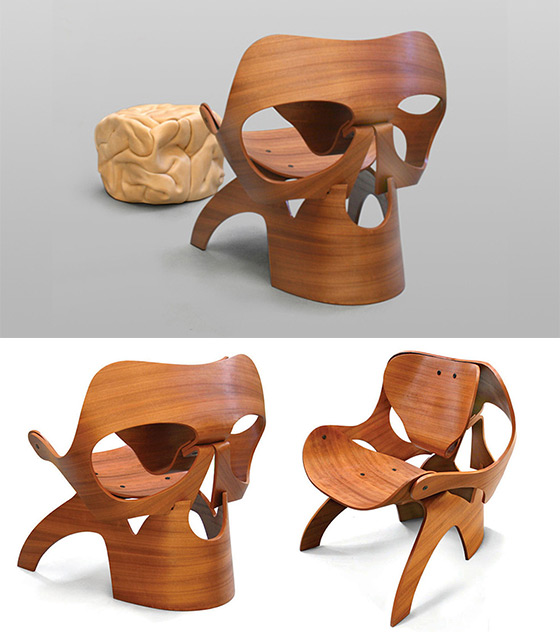 10 Cool and Unusual Chairs Inspired by Skull and Skeleton