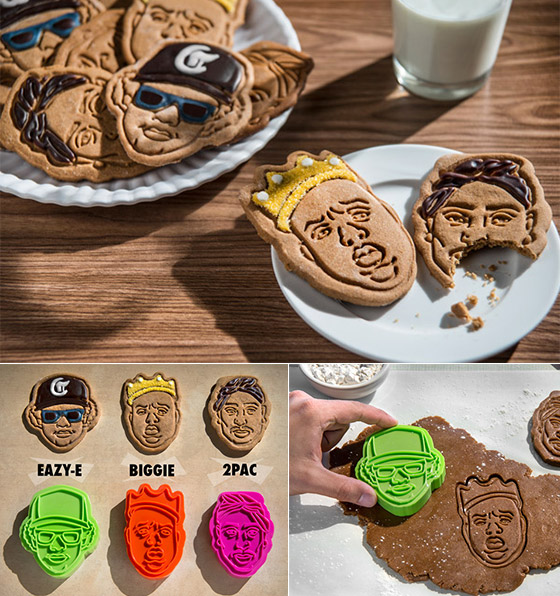 12 Cool and Playful Cookie Cutters and Stamps