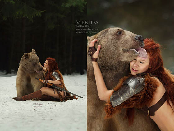 Enchanting Photography Creating Fairy-tale or Legend Scene by Darya Kondratyeva