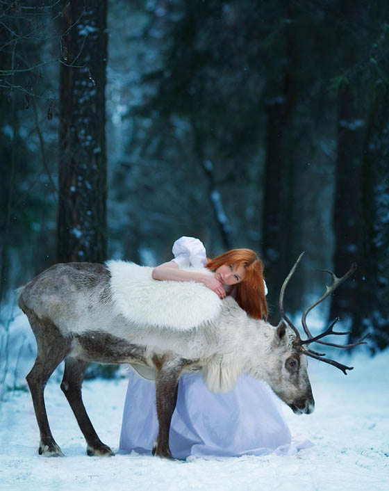 Enchanting Photography Creating Fairy-tale or Legend Scene by Darya Kondratyeva