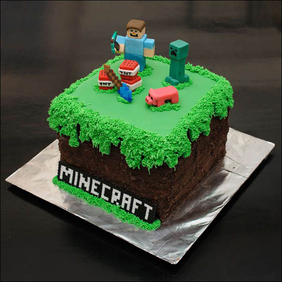 26 Playful Video Game Themed Cake Designs