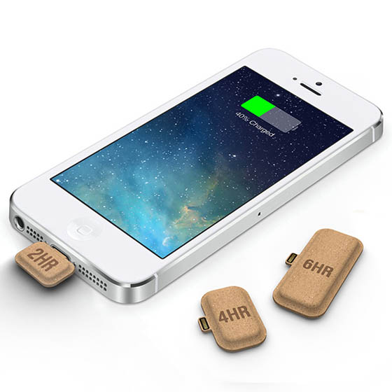 Mini Power: Disposable Phone Charger Using Paper Battery Technology