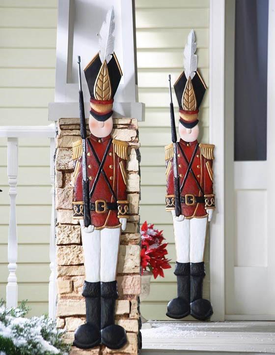 17 Beautiful Christmas Wall Decoration Ideas