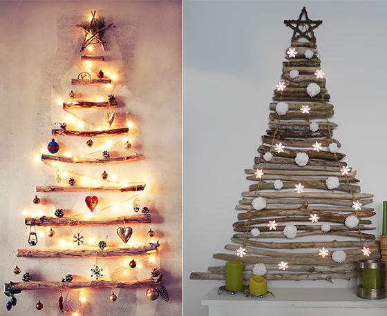 17 beautiful christmas wall decoration ideas
