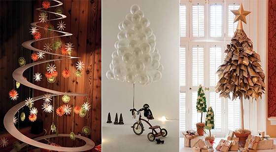 22 Creative DIY Christmas Tree Designs