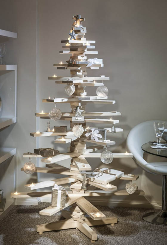 22 Creative DIY Christmas Tree Designs