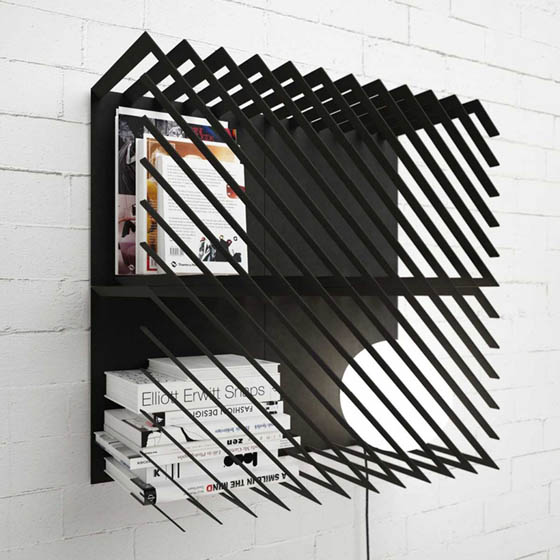 Unusual Bookshelf Hash by LINE STUDIO
