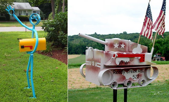 42 cool and unusual mailbox designs - Mailbox Design Ideas