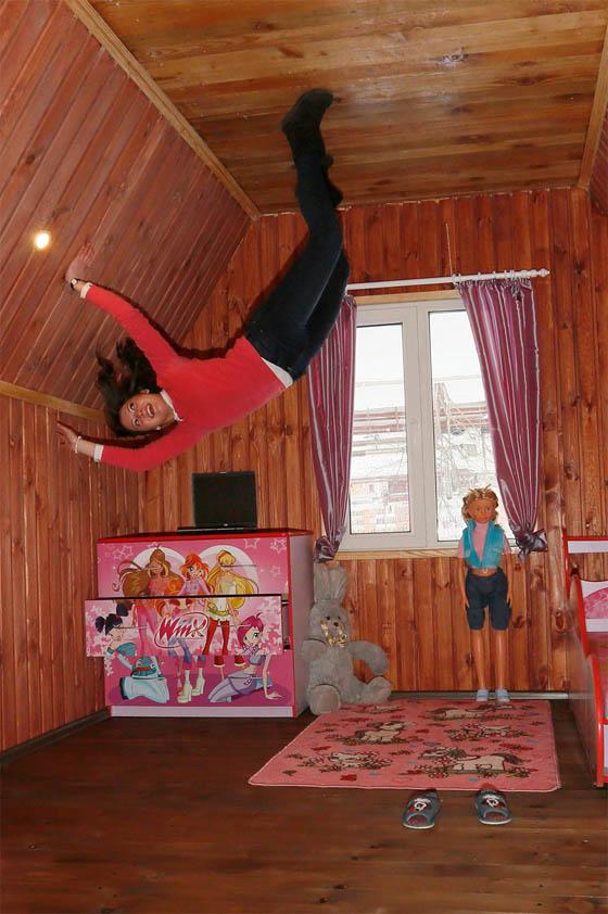 Upside-down House in Siberia, Russia