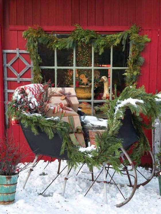 Beautiful Christmas Outdoor Decoration Ideas