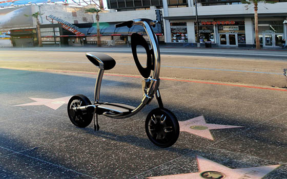 INU - Urban Personal Vehicle that Classy on the Road, Elegant on Floors