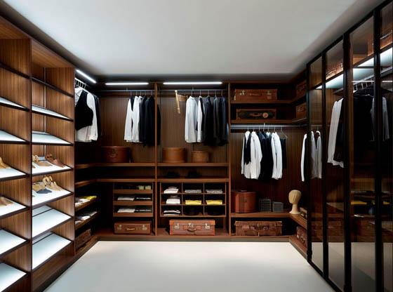 25 Cool Walk In Closet Ideas for Men
