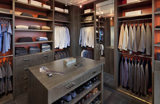 25 cool walk in closet ideas for men design swan - Walk in closet design ideas ...