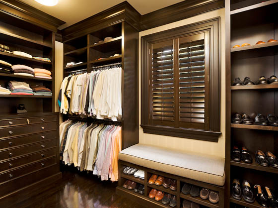25 cool walk in closet ideas for men design swan - Mens walk in closet ...