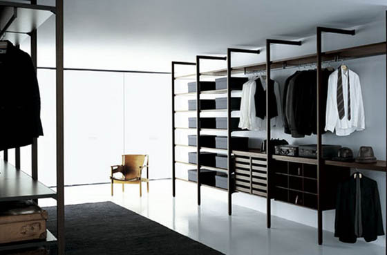 25 Cool Walk In Closet Ideas for Men