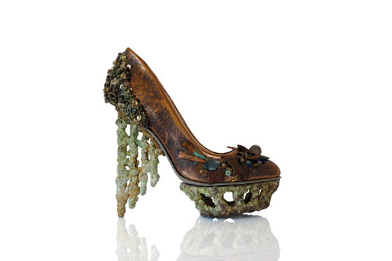 Fantasy Shoe Sculptures by Anastasia Radevich