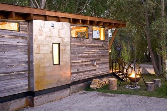 The Wedge Cabin: Space Optimized House on Wheels
