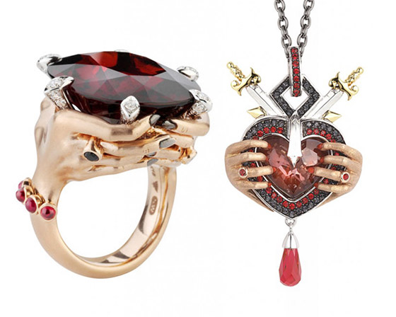 Jewelry Design Inspired by The Seven Deadly Sins