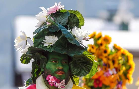 Amazing Schleicherlaufen Festival in Austria, Telfs