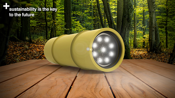 Bamboo Torch: a Nice Try for Eco-friendly Flashlight