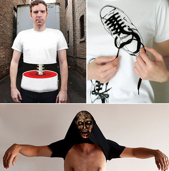 14 Creative and Unusual T-shirt Designs