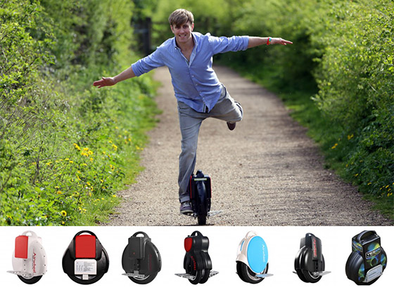 Airwheel: Self-balancing Unicycles Transportation Device