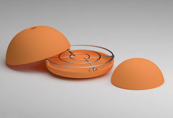 Egloo: Innovative Candle-Powered Space Heater