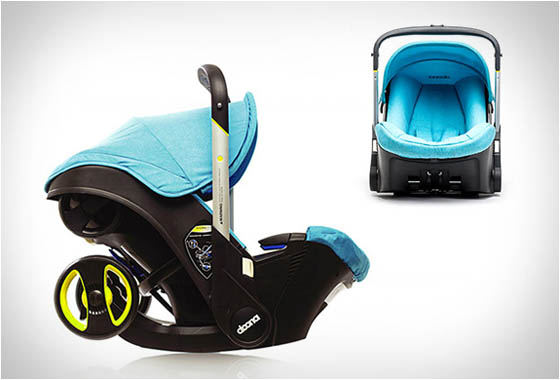 DOONA: Innovative Car Seat with Fully Integrated Mobility Solution