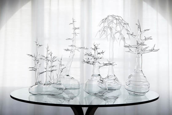 Nature Inspired Glass Work by Simone Crestani