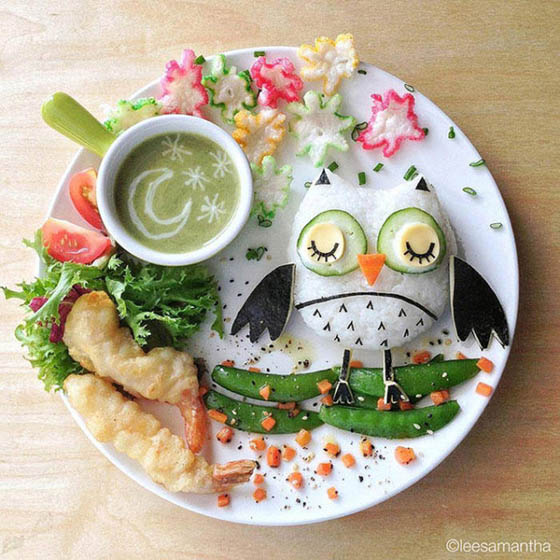 Delicious Food Art of Samantha Lee