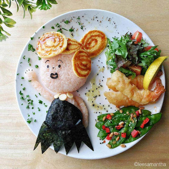 Delicious Food Art of Samantha Lee