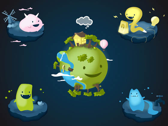 Eco Monsters: Help to Address the Problem of Environmental Protection As Early As Infancy
