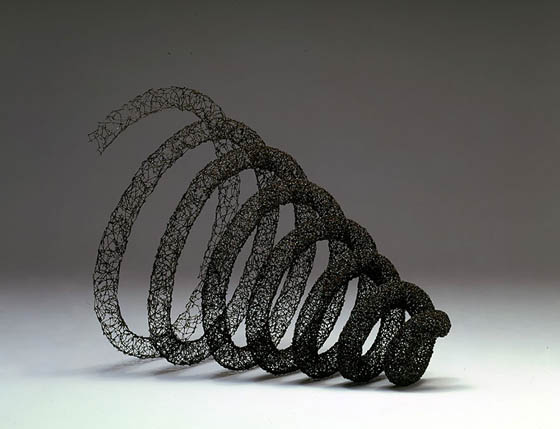 Stunning Sculptures Made of 12 Inch Nails by John Bisbee