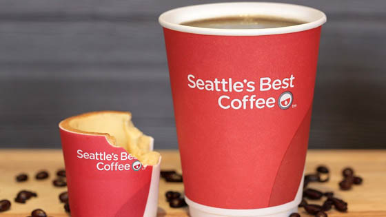 Scoffee: KFC's new edible coffee cup