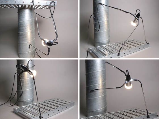 Spyder Light: a Flexible Lights Source that Can be Moved Easily and Quickly