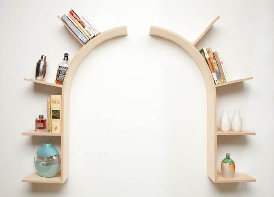 20 of The Most Creative Shelving System Designs
