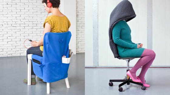 Chair Wear: Clothes Designed for Chairs by Bernotat&Co