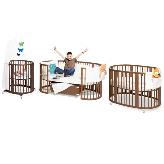 10 Cool and Functional Cribs for Your Baby