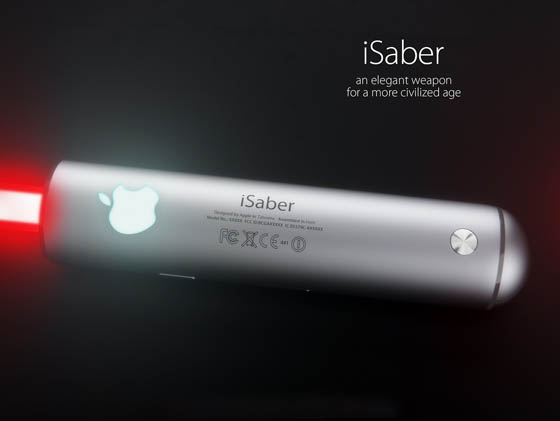 iSaber: The Apple Lightsaber?